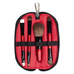 Travel Brush Set (4 PCS) RED INGLOT Bangladesh icon
