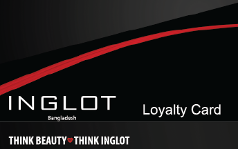 INGLOT Bangladesh Loyalty Card